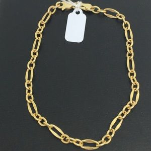 14K Yellow Gold Link Style Bracelet